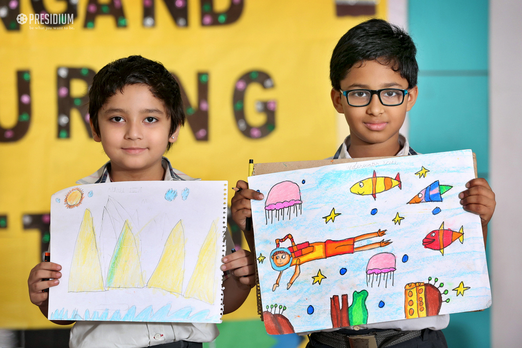DRAWING & COLOURING COMPETITION 2019
