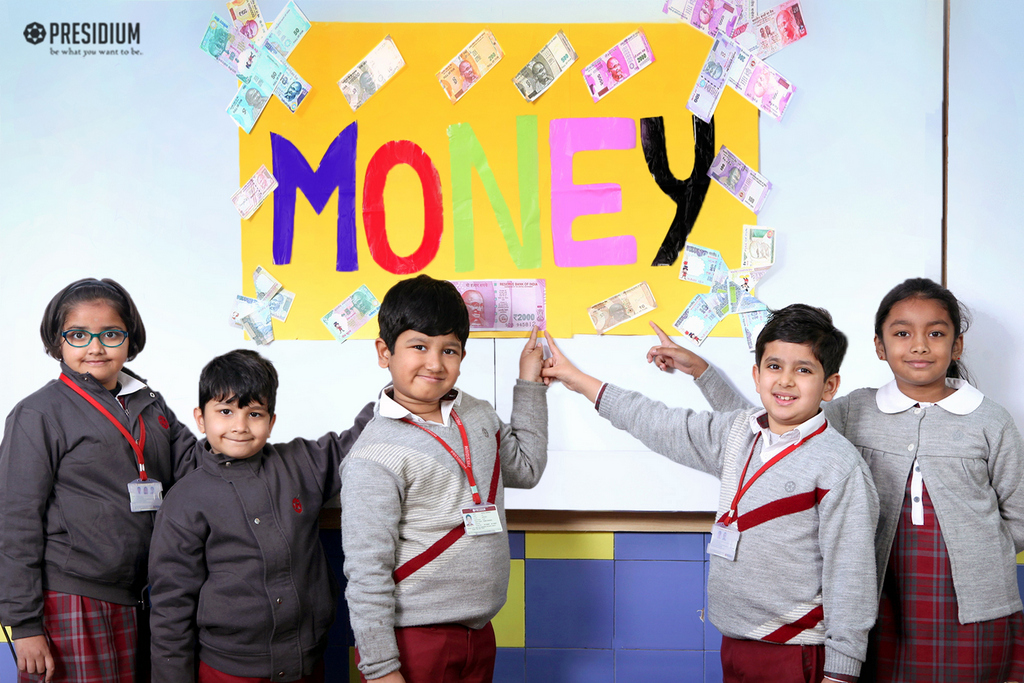 Maths activity: concept of money 2019