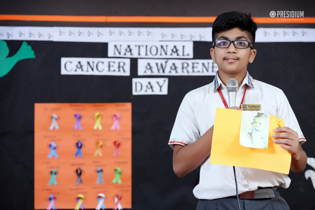 NATIONAL CANCER AWARENESS DAY 2019