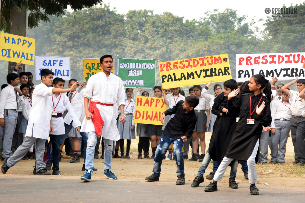 RALLY ORGANISED AMIDST DIWALI CELEBRATIONS