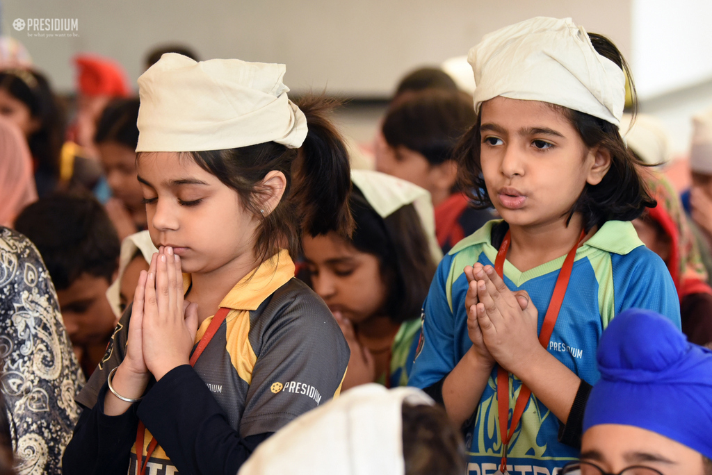 PRESIDIANS CREATE A PIOUS ATMOSPHERE IN SCHOOL ON GURPURAB