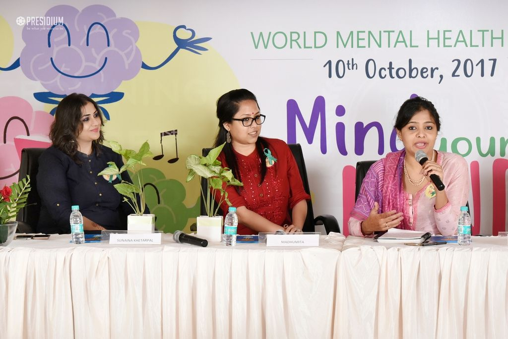 OBSERVING WORLD MENTAL HEALTH DAY IN THE AEGIS OF SUDHA MA'AM