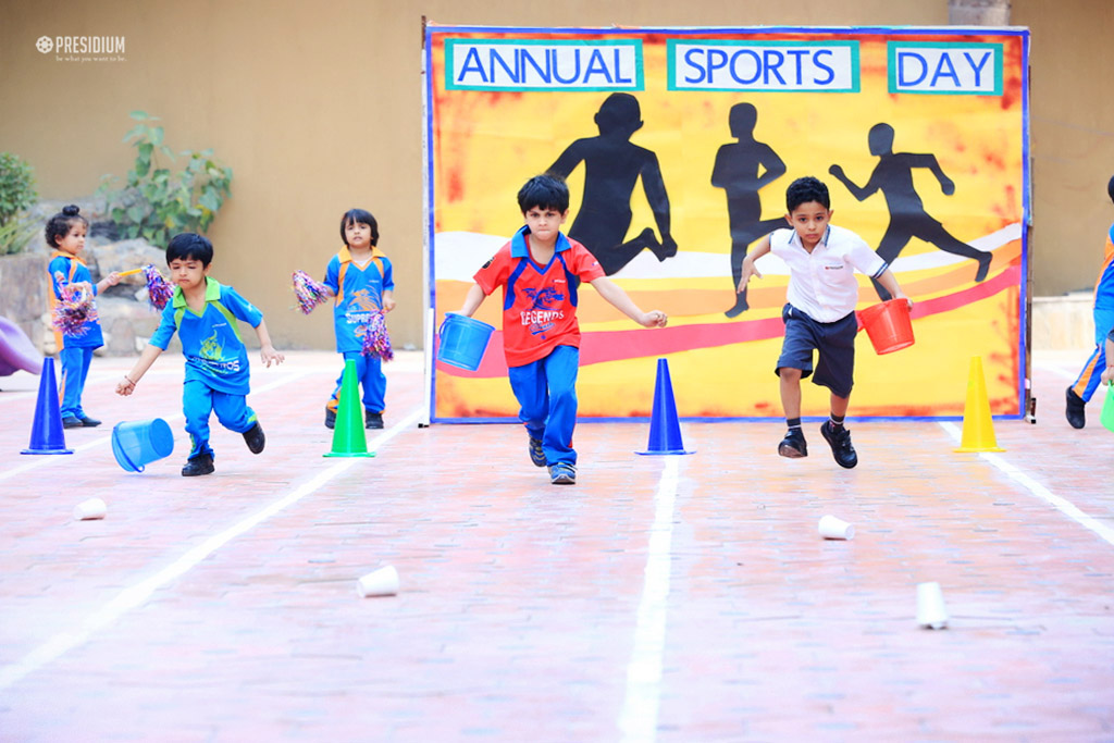 ANNUAL SPORTS DAY: PRESIDIANS SHOW TRUE SPORTSMANSHIP & TEAM WORK