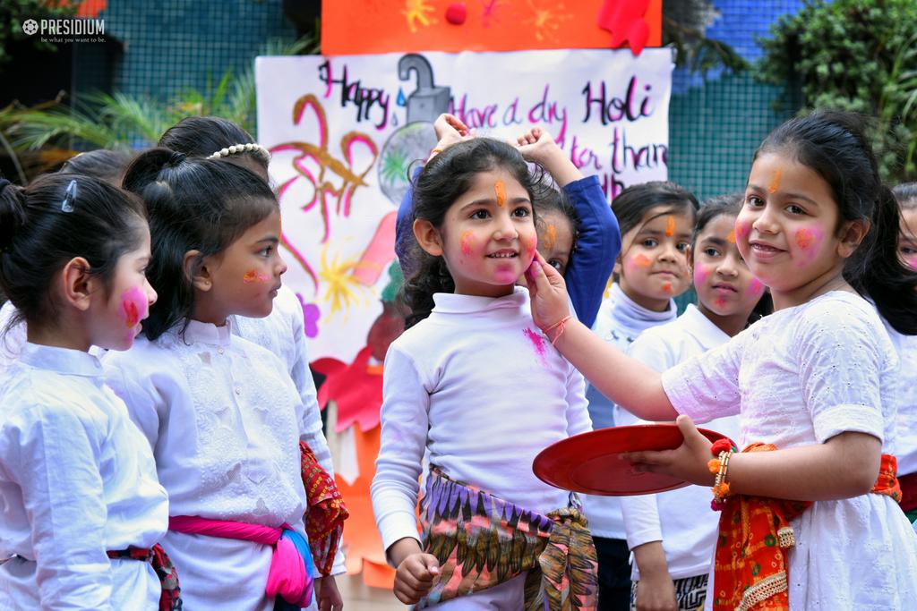 Holi celebration 2019