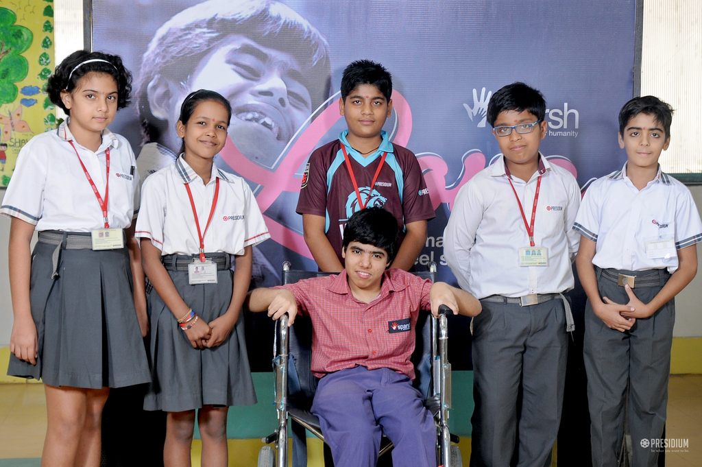 PRESIDIANS DISCOVER HUMANITY WITH THEIR SPECIAL FRIENDS AT SPARSH