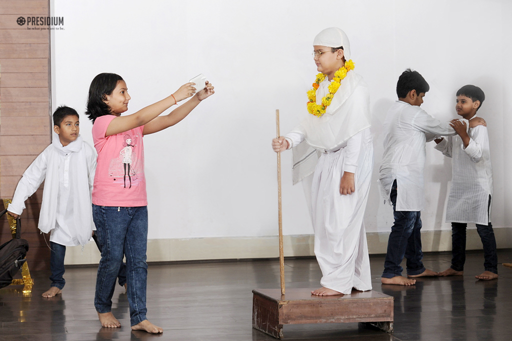 REMINISCING THE PATH OF TRUTH & NON-VIOLENCE ON GANDHI JAYANTI