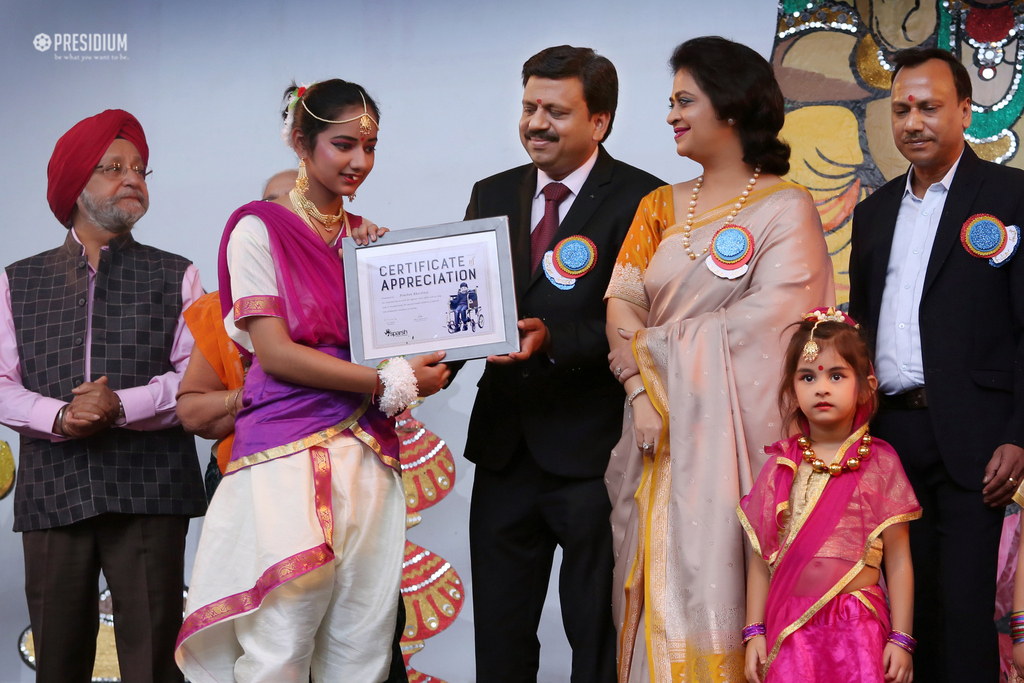 SPARSH CHILDREN ADD TO THE GRANDEUR OF 'FUTURE FEST 2018'