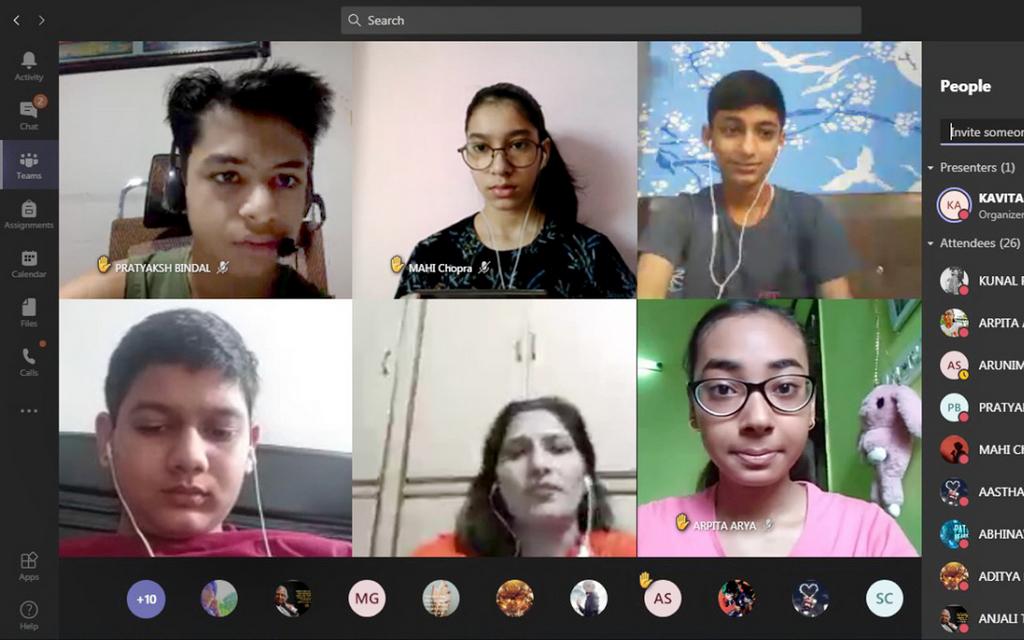 Geography- Debate session_Grade IX 2020