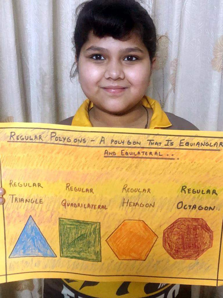 Maths -Polygons - Grade 4 2020
