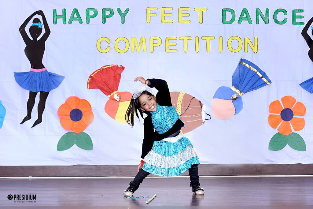 INTER-CLUB DANCE CONTEST: LITTLE PRESIDIANS EXCITEDLY SHAKE A LEG