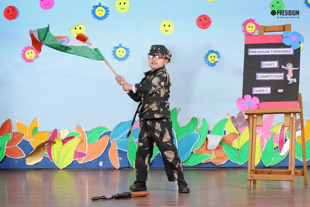 INTRA-CLASS DANCE CONTEST 'RHYTHM OF SOUL' ENTHRALLS PRESIDIANS