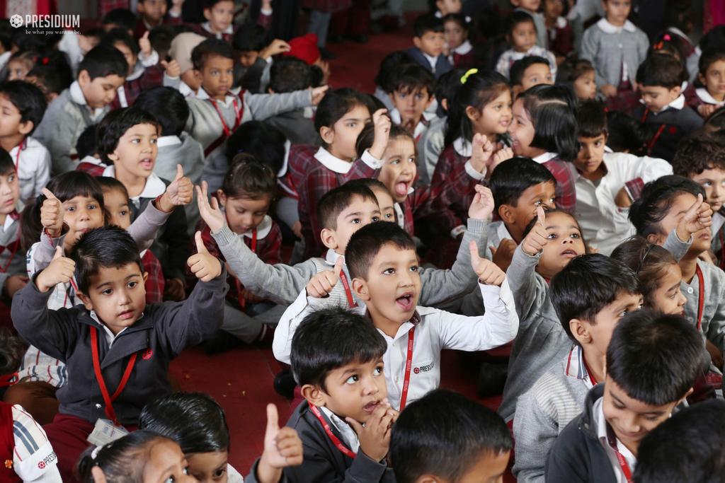 PRESIDIANS REVERE THE SPIRIT OF CHILDHOOD ON CHILDREN'S DAY