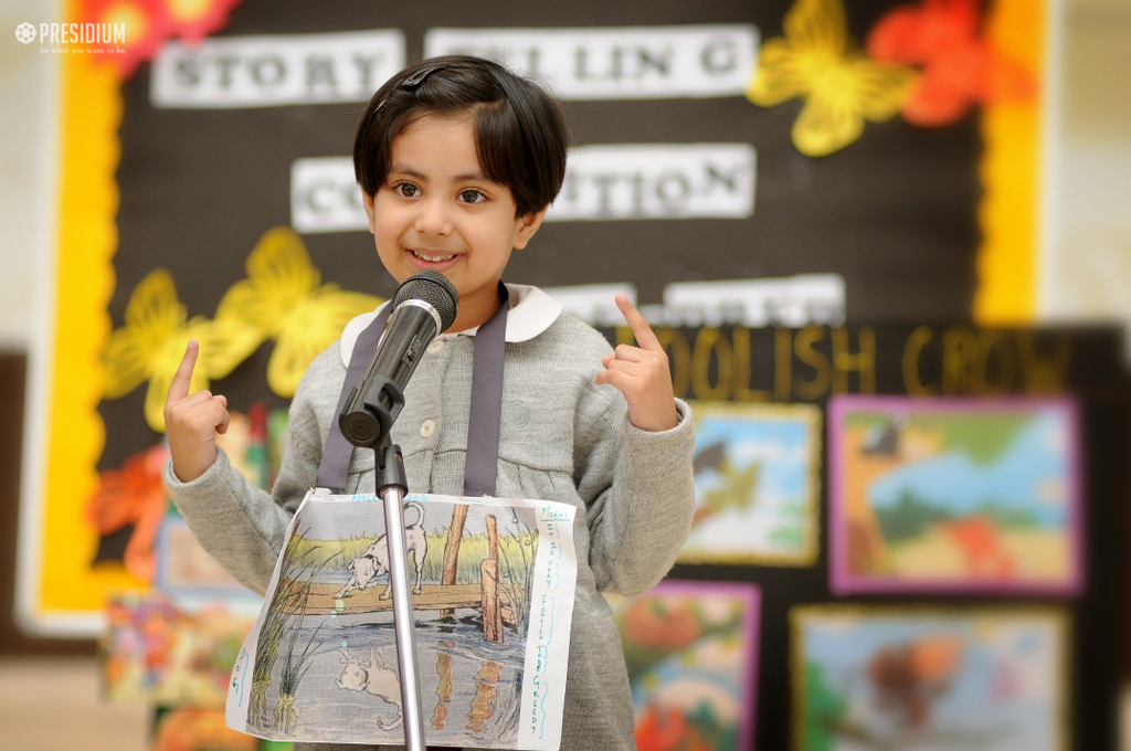 STRENGTHENING CREATIVITY & VERBAL SKILLS WITH STORYTELLING