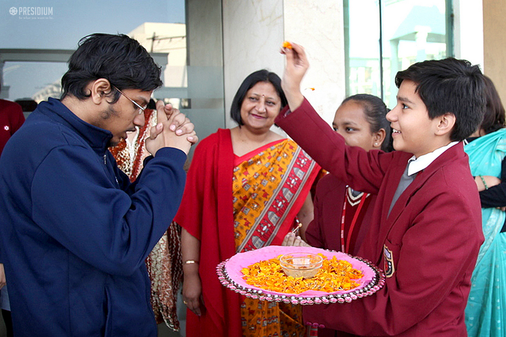 SPARSH SPECIAL CHILDREN COME TO THANK THEIR COMPASSIONATE FRIENDS
